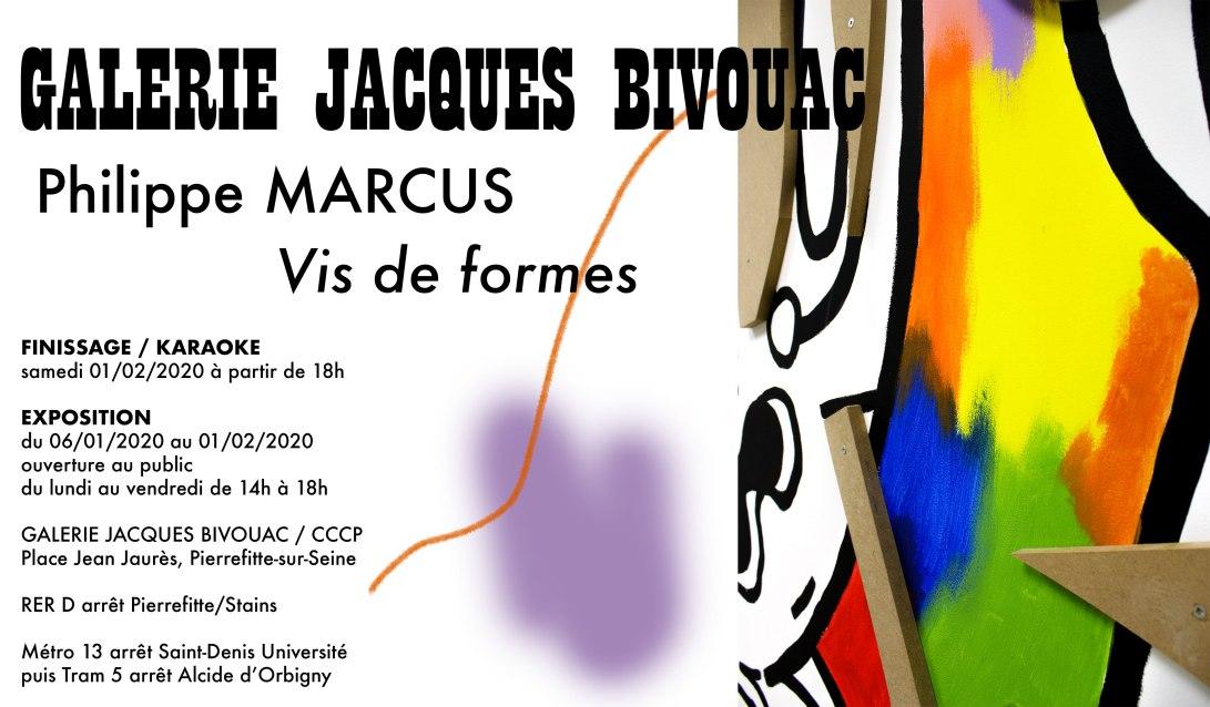 Philippe MARCUS - Galerie Jacques BIVOUAC